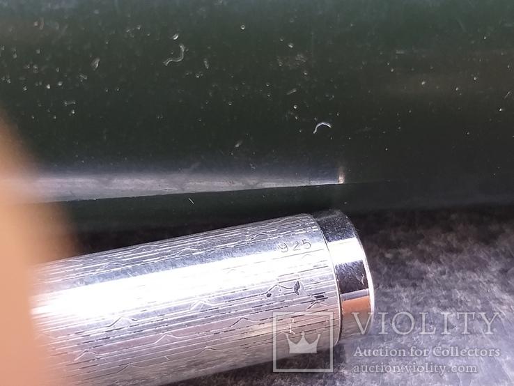 Нож для писем, серебро, сталь, Италия, фото №4