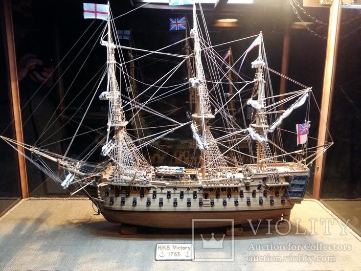 HMS Виктория 1:98 (старая школа сборки)