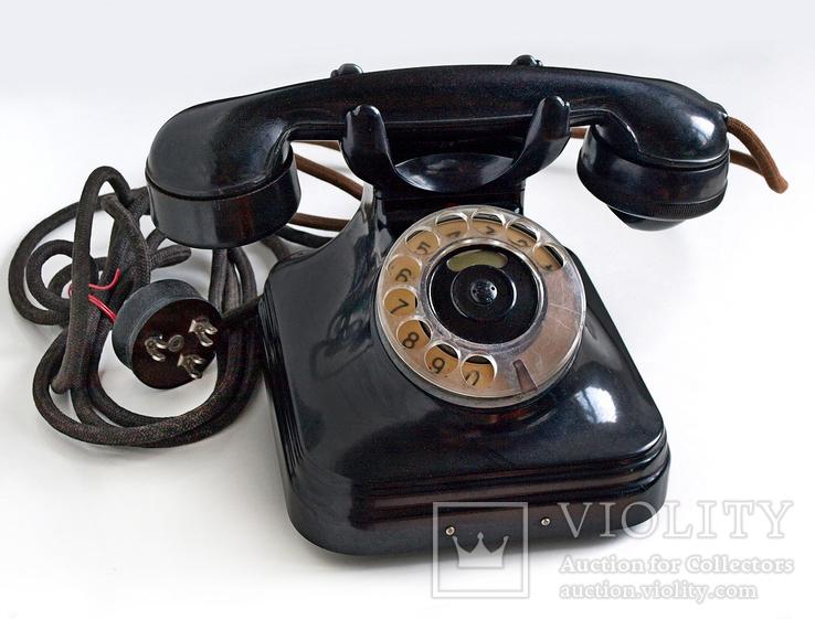 Телефон Standard, Villamossági R.T., 1940 год, Венгрия.