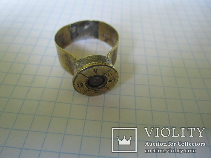 Кольцо из гильзы 1916 года(еще одно)., фото №3