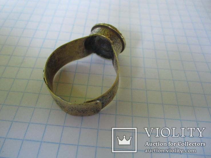 Кольцо из гильзы 1916 года(еще одно)., фото №4