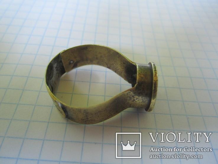 Кольцо из гильзы 1916 года(еще одно)., фото №6