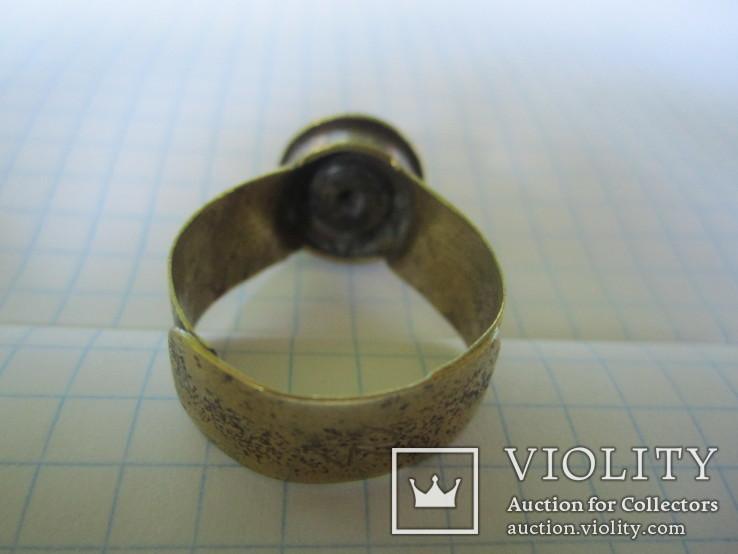 Кольцо из гильзы 1916 года(еще одно)., фото №9