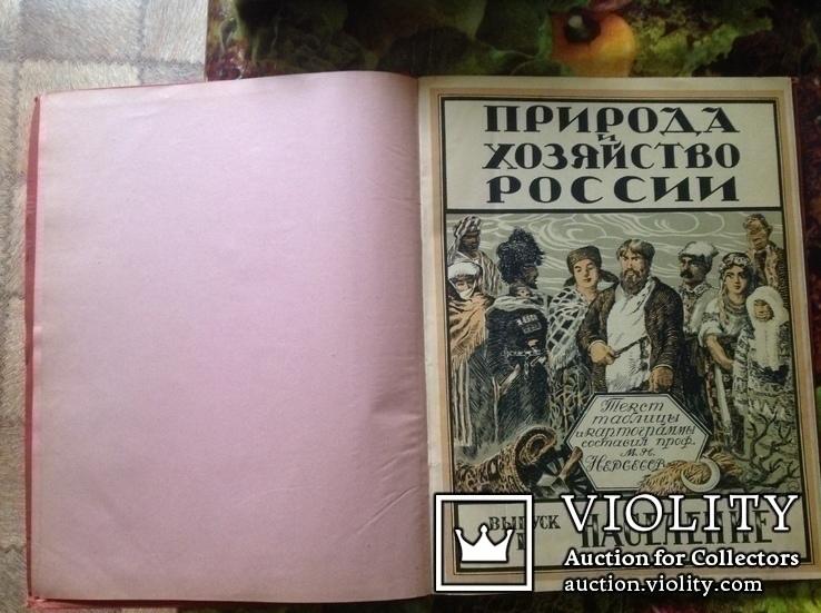 Книга Природа и хозяйство России. Население., фото №4