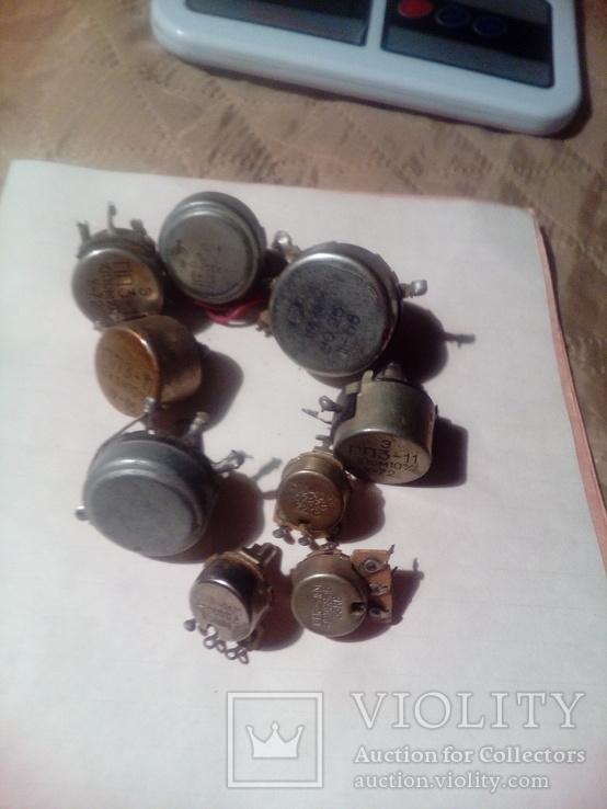 Резисторы 9 шт, фото №3