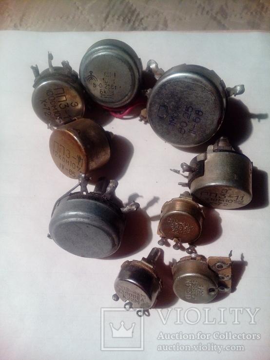 Резисторы 9 шт, фото №4