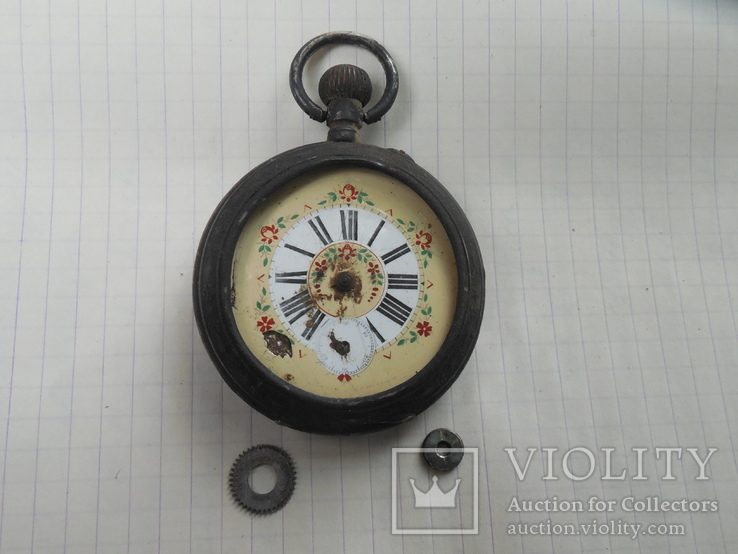 Карманные часы на запчасти, фото №2