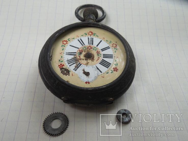 Карманные часы на запчасти, фото №3