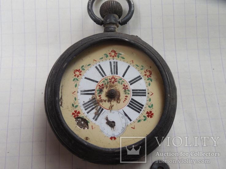 Карманные часы на запчасти, фото №4