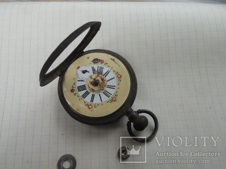 Карманные часы на запчасти, фото №5