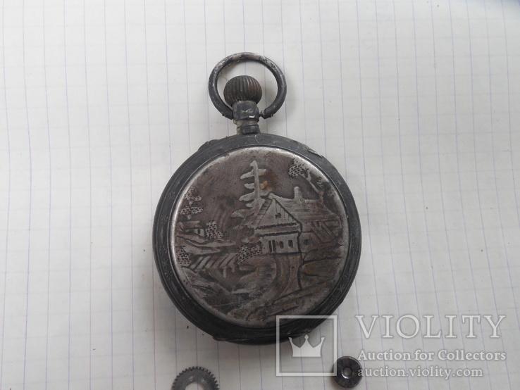 Карманные часы на запчасти, фото №6