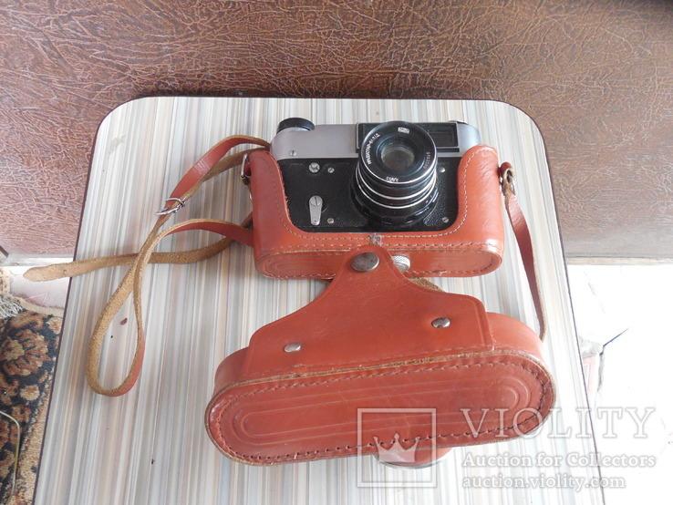 Фотоаппарат ФЭД 5в индустар 61 л/д, фото №2