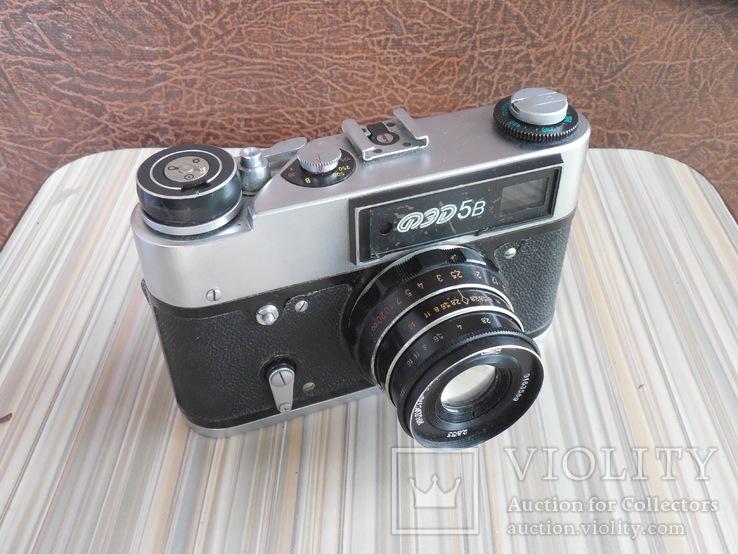 Фотоаппарат ФЭД 5в индустар 61 л/д, фото №3