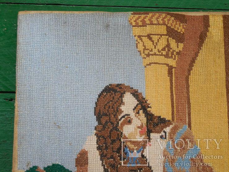 Вышивка девушка, фото №5