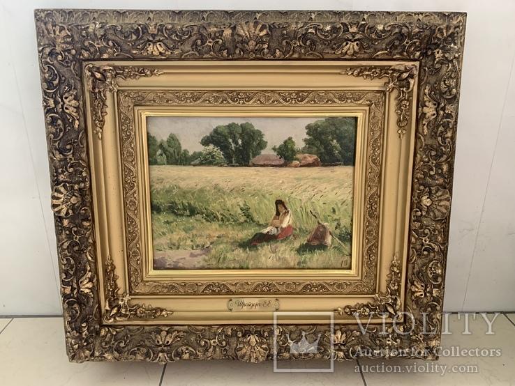 Картина Шрейдер Е.Е. «Отдых в поле»