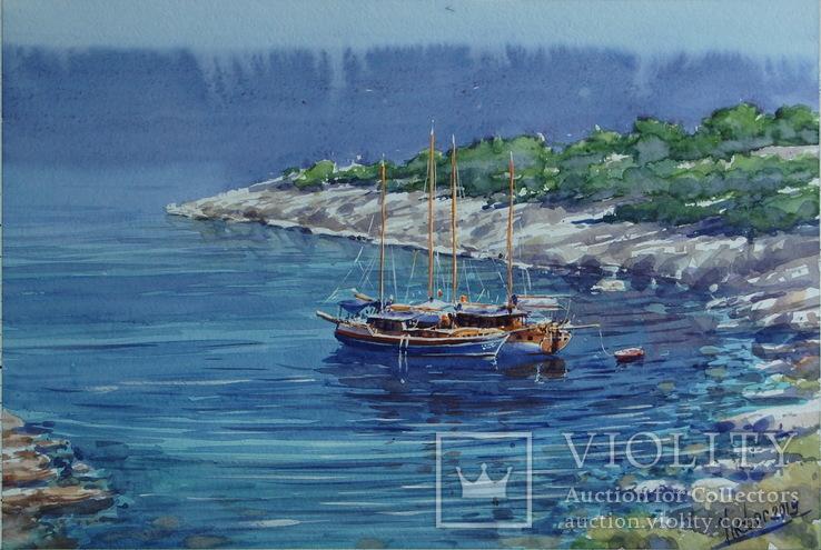 """Картина """"Лодки"""". Микитенко Виктор"""
