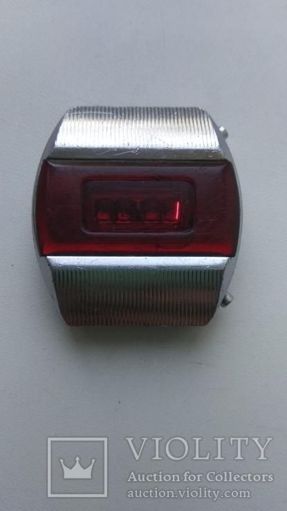 Часы Электроника-1 красная