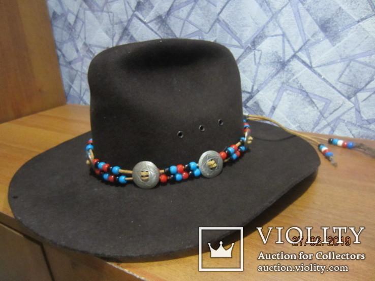 Ковбойская шляпа Stetson Western, фото №13