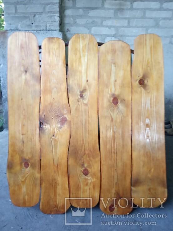 Авторская декоративная полка из натуральной древесины, фото №4