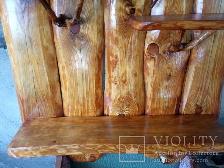 Авторская декоративная полка из натуральной древесины, фото №6