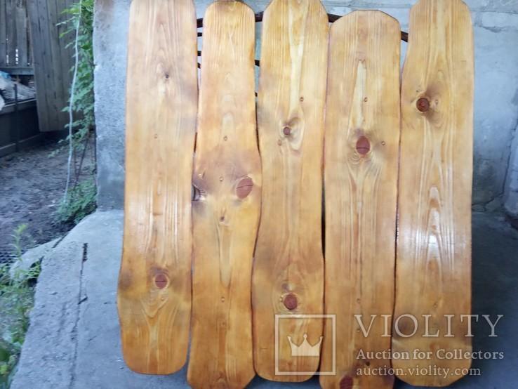 Авторская декоративная полка из натуральной древесины, фото №8