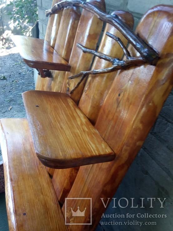 Авторская декоративная полка из натуральной древесины, фото №10