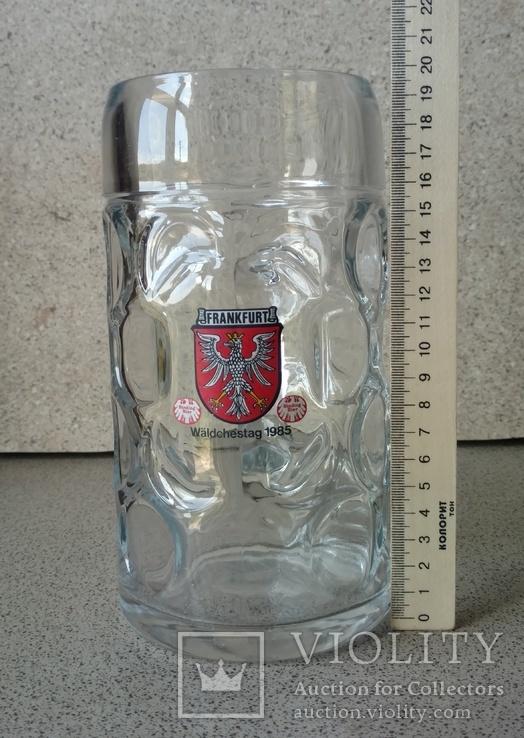 Пивная кружка. Германия. 1 литр, фото №9