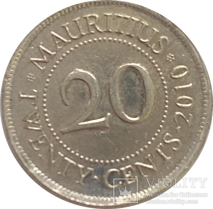 Маврикий 20 цент