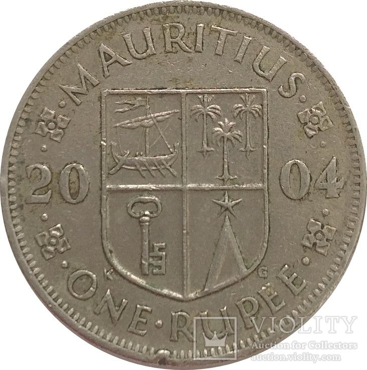 Маврикий 1 рупия 2004