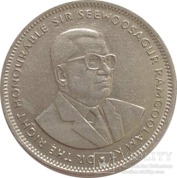 Маврикий 1 рупия 1997, фото №3
