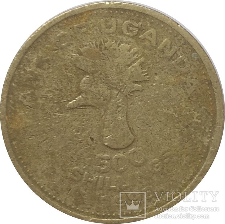 Уганда 500 шиллинг 1998