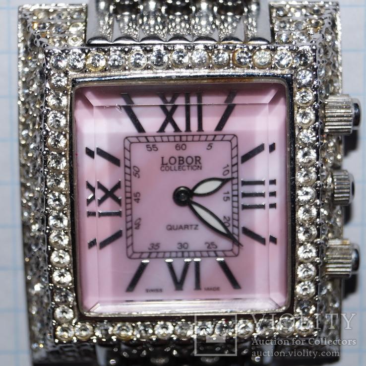 Часы Lobor collection (swiss made) Кварц, фото №2