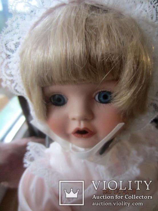 Кукла фарфоровая promenade collection eugenie, фото №3