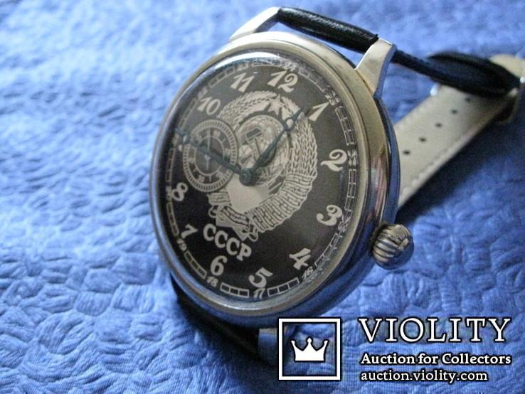 Часы Молния 3602  Герб СССР 1-66 год на ремешке, фото №4