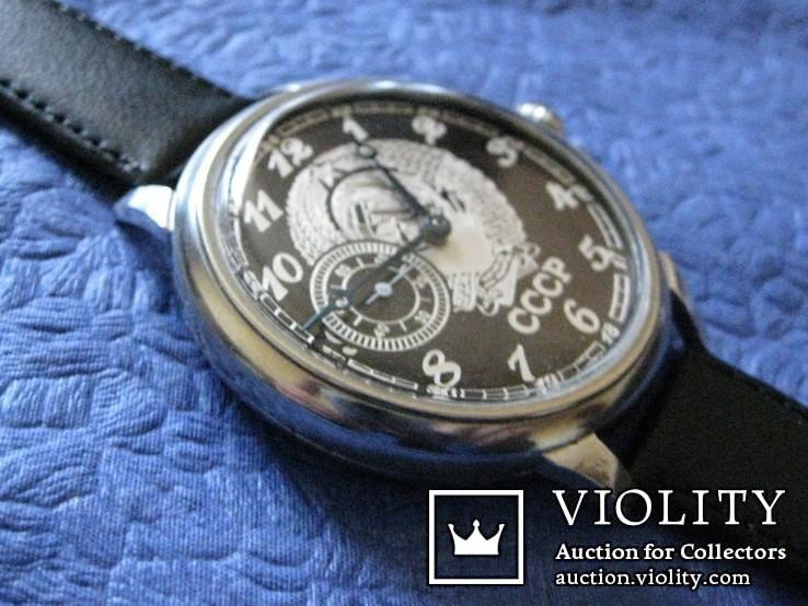 Часы Молния 3602  Герб СССР 1-66 год на ремешке, фото №5