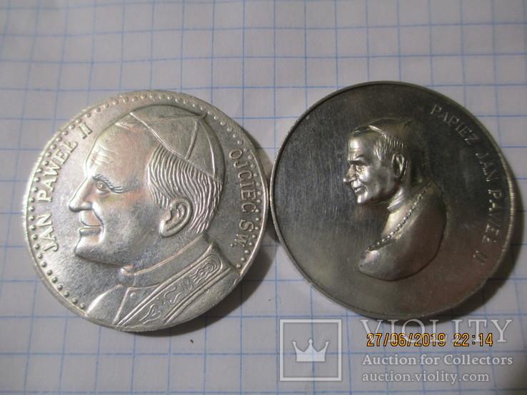 Памятные жетоны 5 штук, фото №4