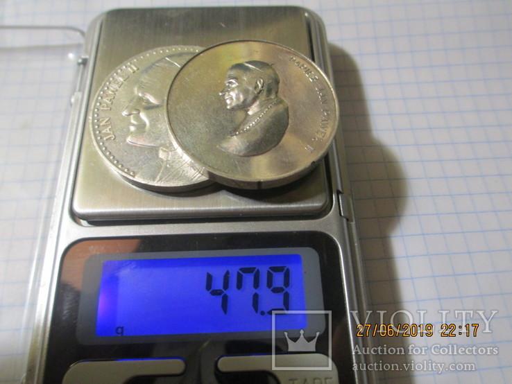 Памятные жетоны 5 штук, фото №8