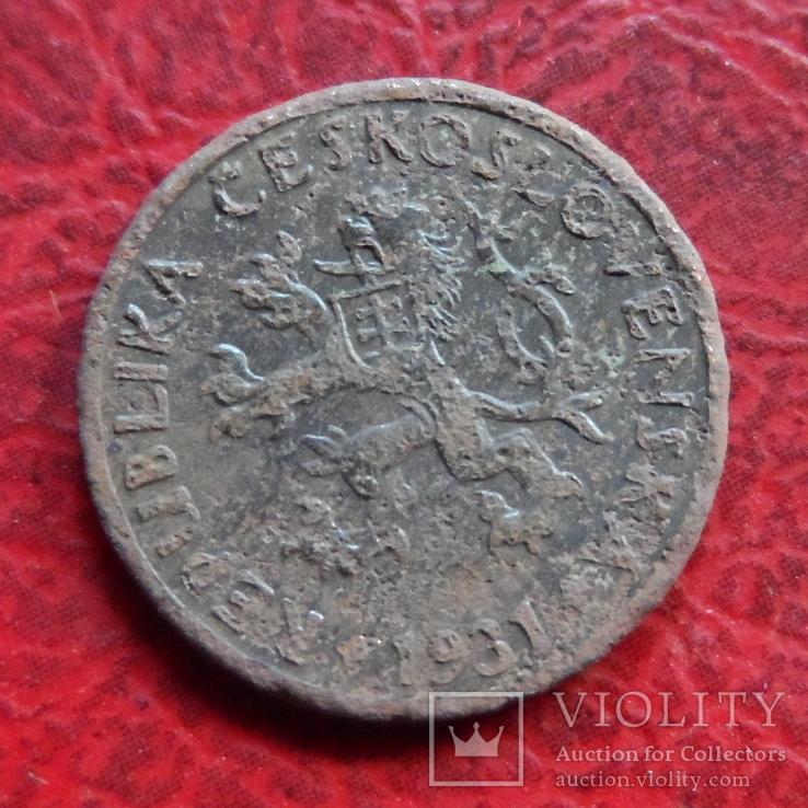 5 геллеров 1931  Чехословакия    ($7.1.4)~, фото №3