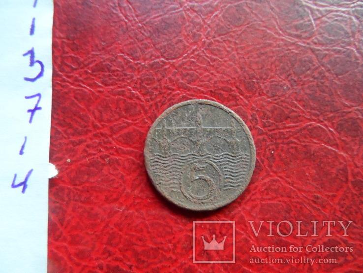 5 геллеров 1931  Чехословакия    ($7.1.4)~, фото №5
