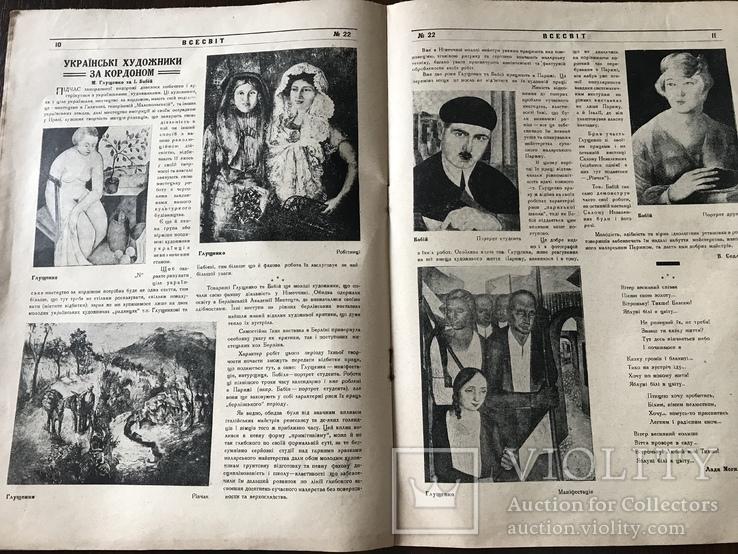 1927 Українські художники за кордоном В Українському журналі