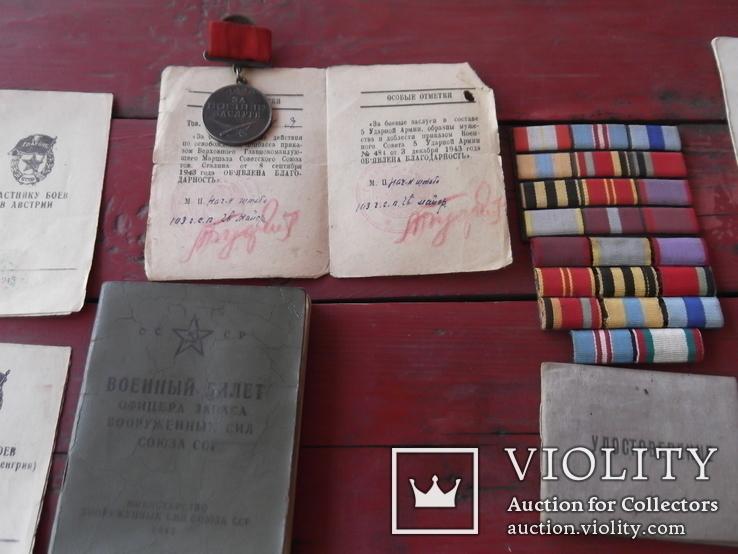 Комплект наград на героя ст лейтенанта с доками, фото №4