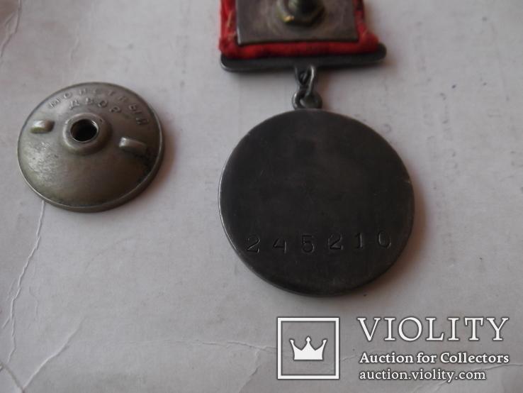 Комплект наград на героя ст лейтенанта с доками, фото №8