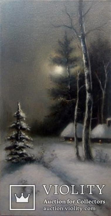 ''Зимний пейзаж