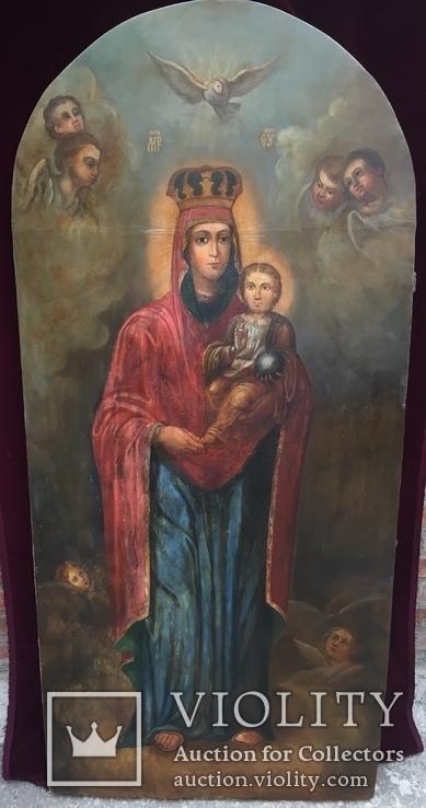 Храмовая Икона Божья Матерь по мотивам Боровиковского