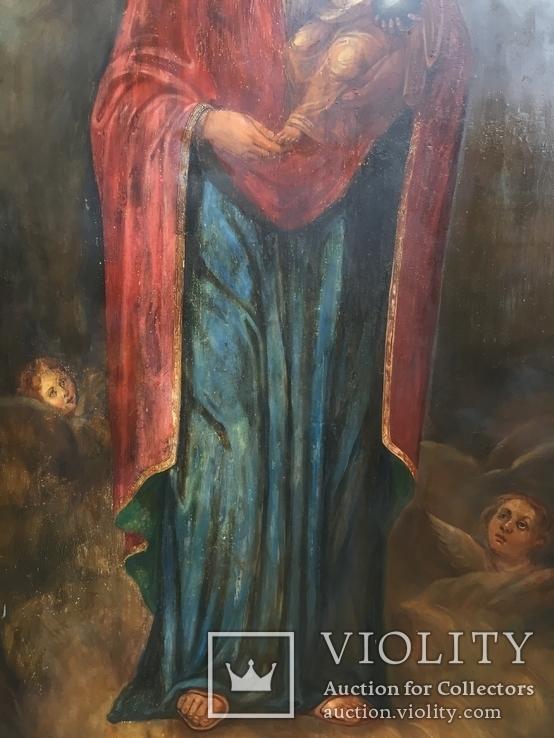 Храмовая Икона Божья Матерь по мотивам Боровиковского, фото №8