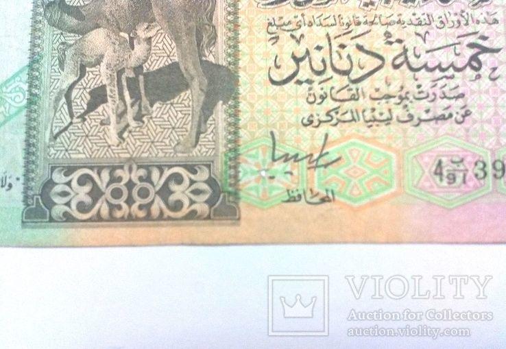Ливия 5 динар 1991 г., фото №5
