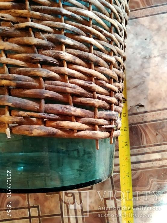 Бутыль с остатками оплета, фото №3