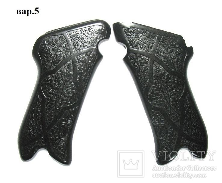 Люгер Р-08, накладки рукояти вар.5. Армированные стекловолокном.  копия, фото №2