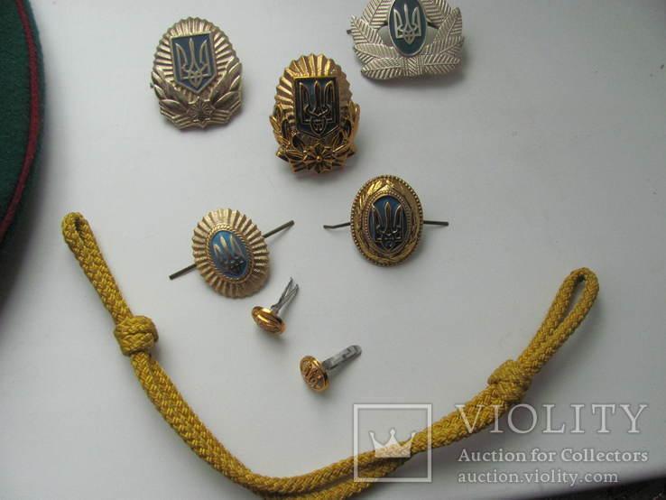 Фуражка ПВ Украина р.57 2005 г, фото №11