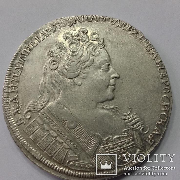 Рубль 1731г